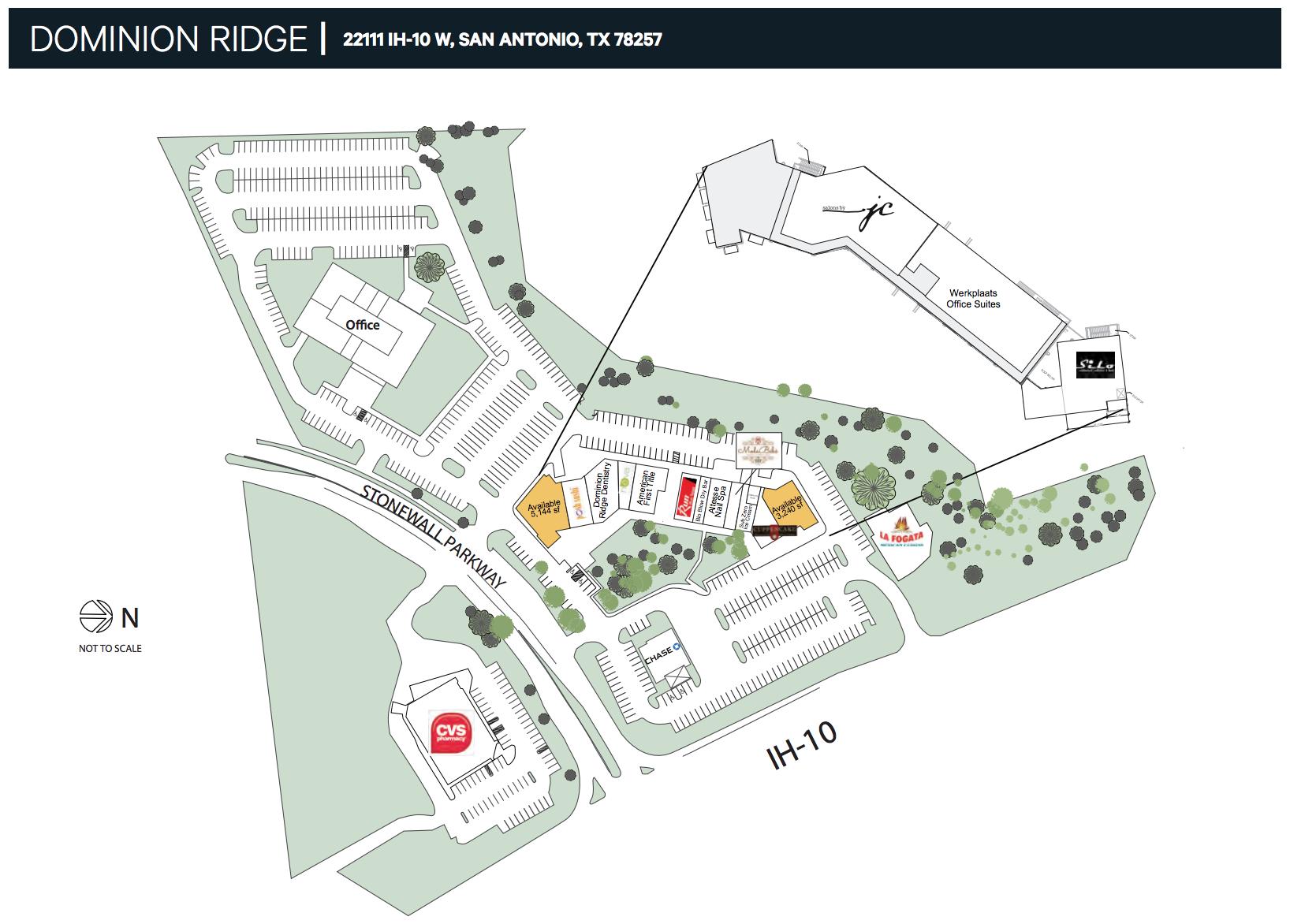 dominion ridge site plan