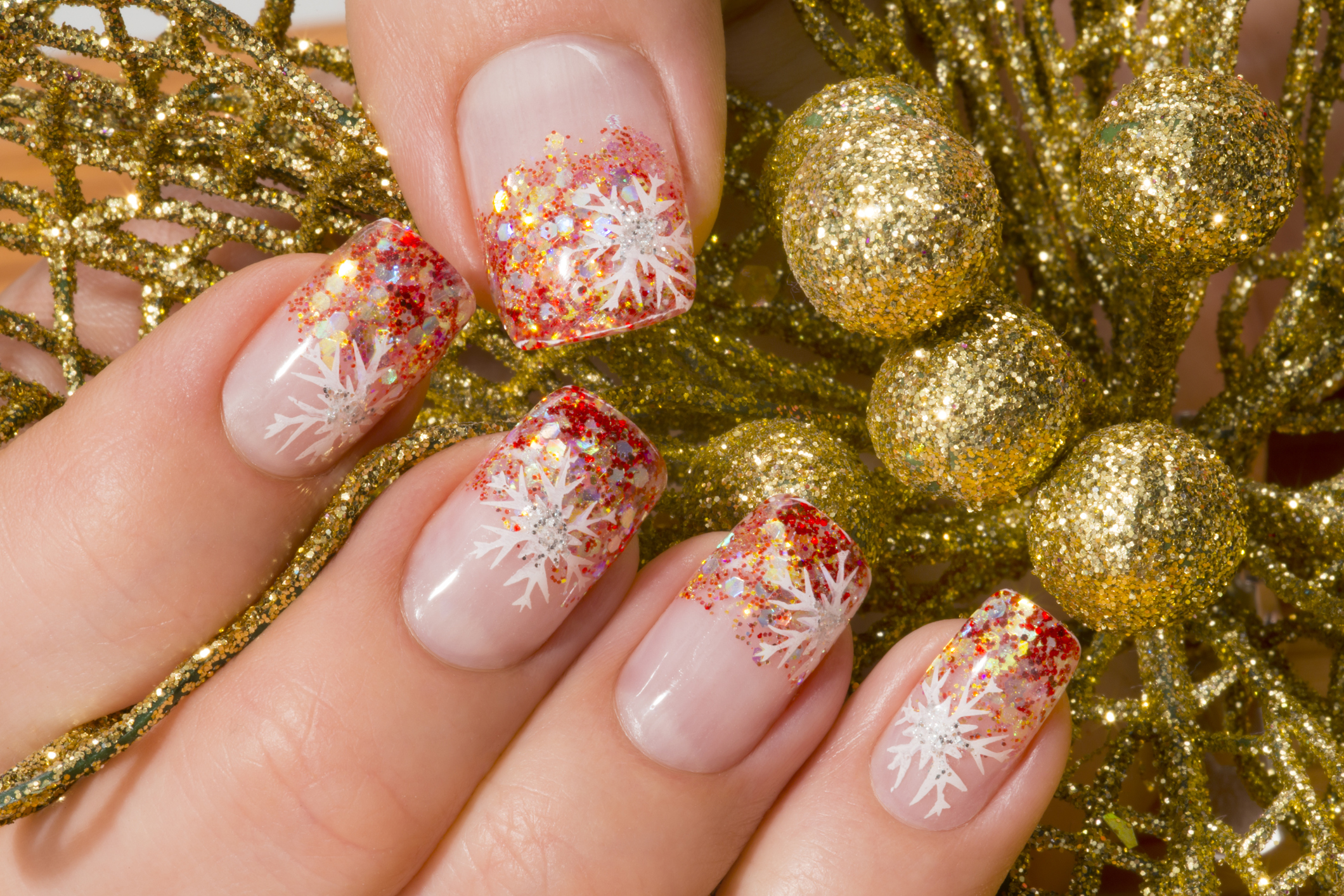 Holiday Nail Art Ideas from Altesse Nail Spa