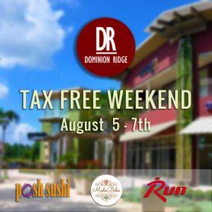 Tax-Free Weekend at San Antonio Shopping Center!
