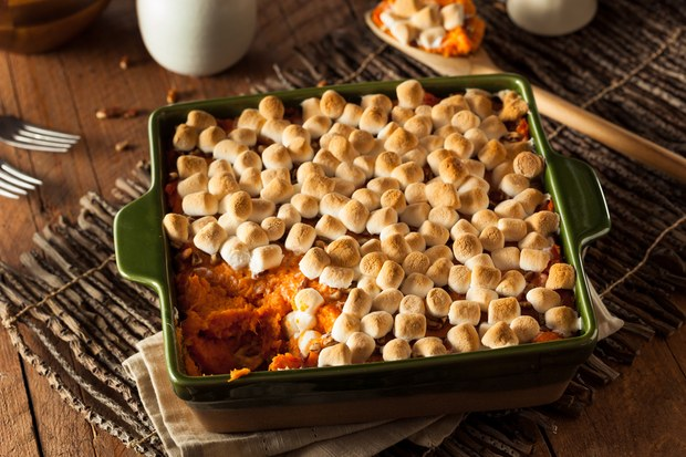 How To Make Sweet Potatoes With Marshmallows This Christmas